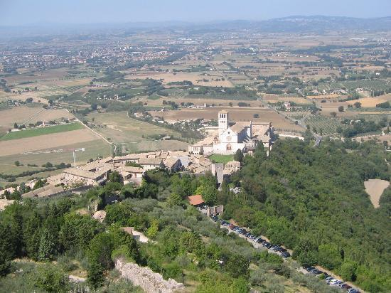 Country House Hotel Tre Esse: Beat that view from the top of Assisi!!!