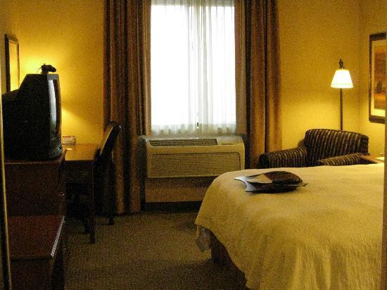 Hampton Inn & Suites Denver-Speer Boulevard: looking toward window