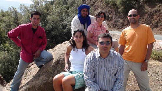 Guest House Merzouga: Los miembros de la expedición