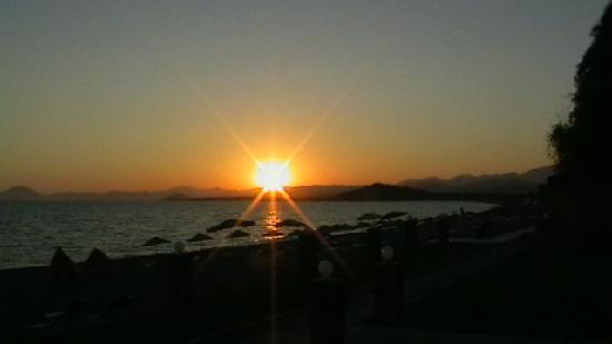 Hotel Yucel : great sunsets