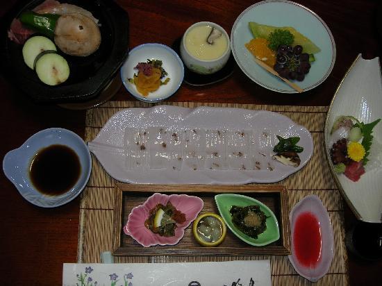 Norennoyado Meigetsu: My dinnner