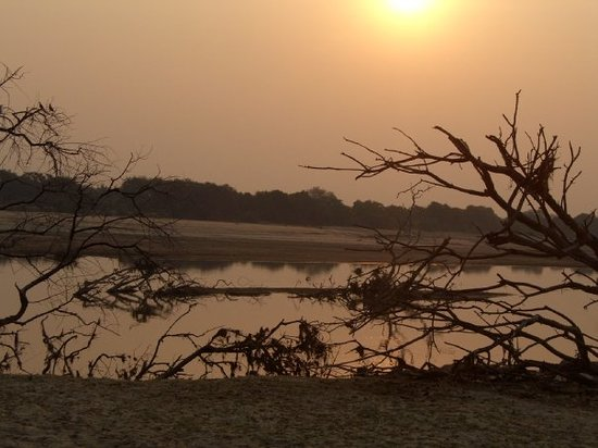 South Luangwa National Park, Zambia: Sunset.