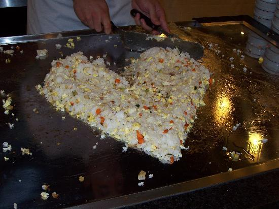 Iberostar Saidia: restaurante oriental corazon