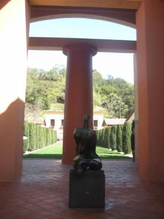 Clos Pegase Winery, Napa Valley  Earth Mother  - Picture of