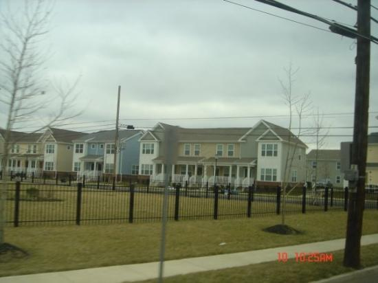 Camden, NJ: Brand-new homes for low income housing people.