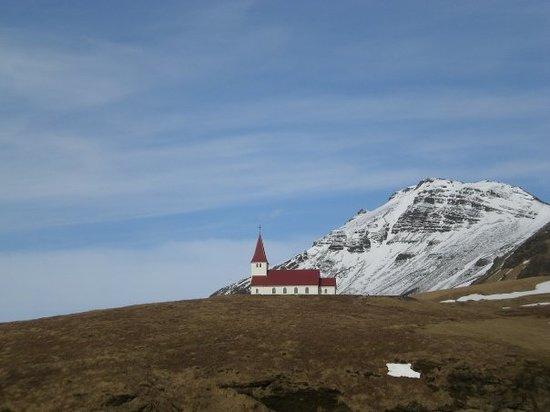église de Vik.