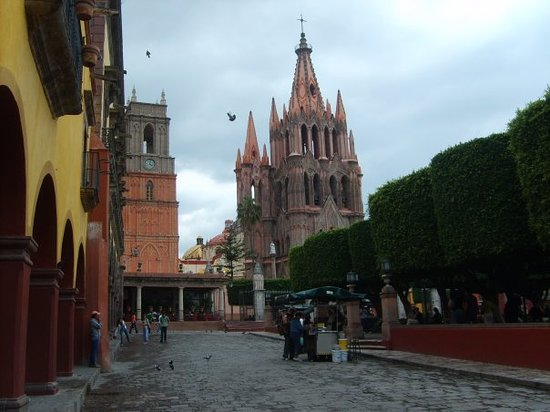San Miguel de Allende, Meksyk: The main plaza