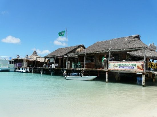 Oranjestad, Aruba: Pelican Pier