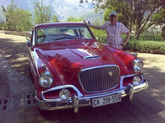 Franschhoek, Südafrika: Would wish that this Studebaker would be mine...