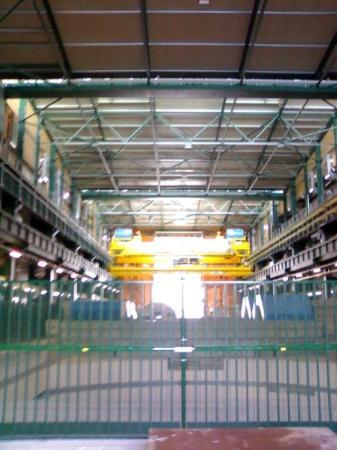 CERN Univers de particules: Hangar Above The Shaft
