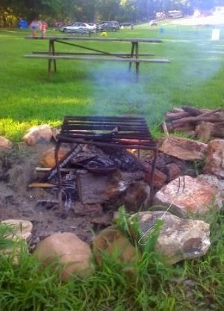 Cabool, MO : our first attempt at a fire..