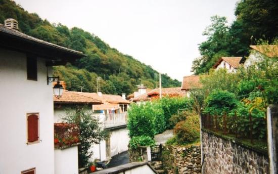 Arneguy, hometown of my great-grandfather, Pierre Larramendy