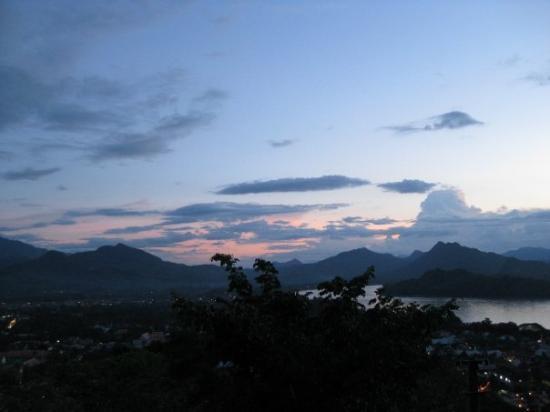 Mount Phousi ภาพถ่าย