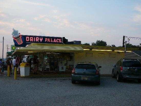Exterior of the Dairy Palace