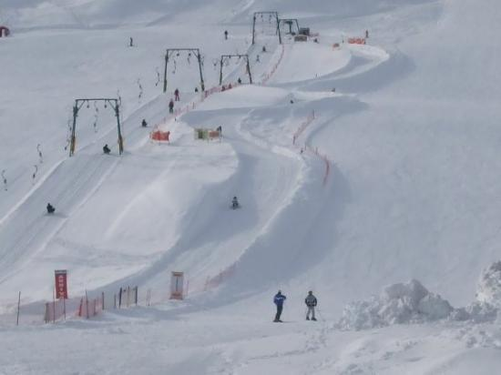 Livigno, Italy - One day snow was mad - couldnt see a think - I think I skied better that day