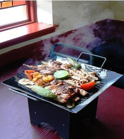 El Bracero Mexican Grill: There signature plate