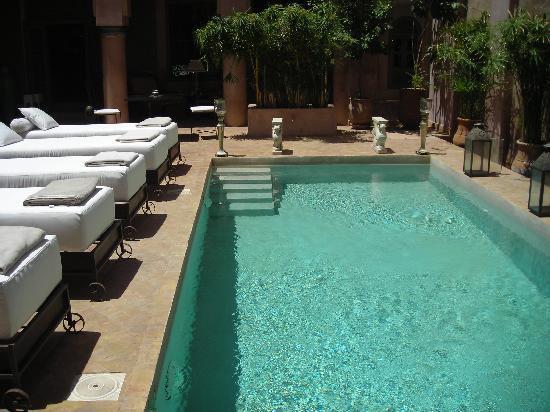 Riad Noir d'Ivoire: Pool