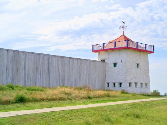 Fort Union Trading Post: A big fort