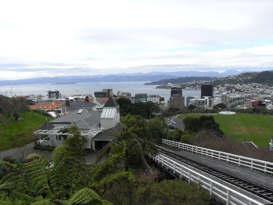 Wellington Cable Car: going up!