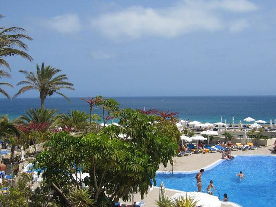 Iberostar Playa Gaviotas: Dalla terrazza
