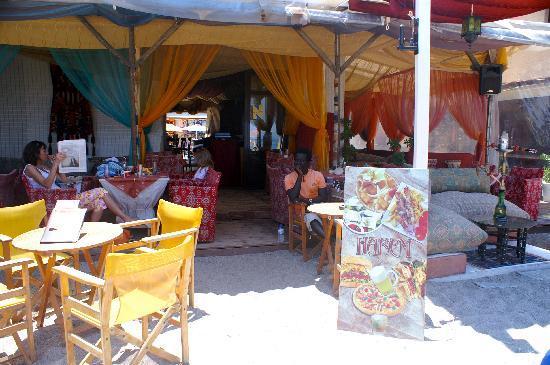 Americana Hotel: Exotic Cafes Kos Town beach