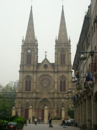 La única Iglesia Católica de Guangzhou