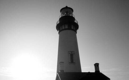 นิวพอร์ต, ออริกอน: Yaquina Head Lighthouse. Newport, OR.