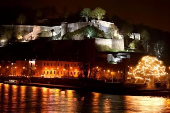 Namur, Bélgica: La pointe du Grognon