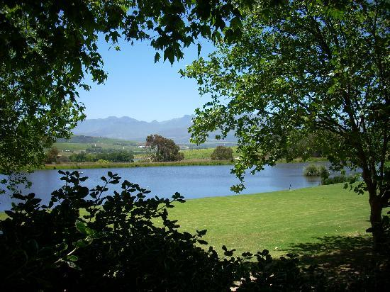 Jordan Winery: The View From the tasting area