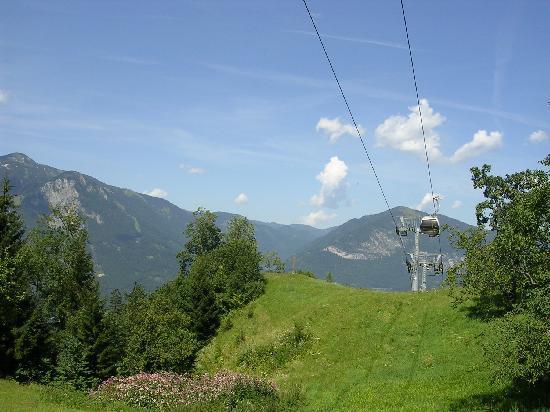 Pension Alpina: paisaje de Reith