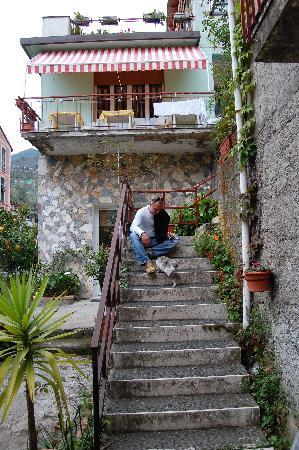 The Stairway to B&B Marisa
