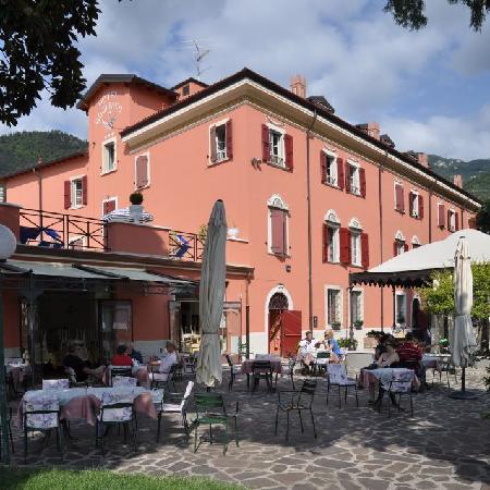 Bogliaco Hotel: Terrasse