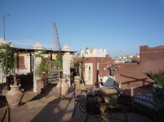 Riad les Inseparables: Terrace