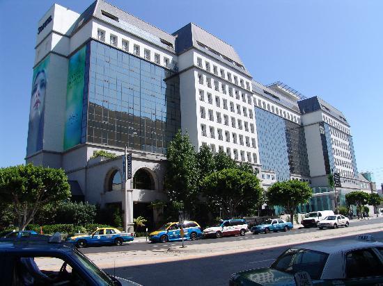 Sofitel Hotel  Beverly Blvd Los Angeles Ca