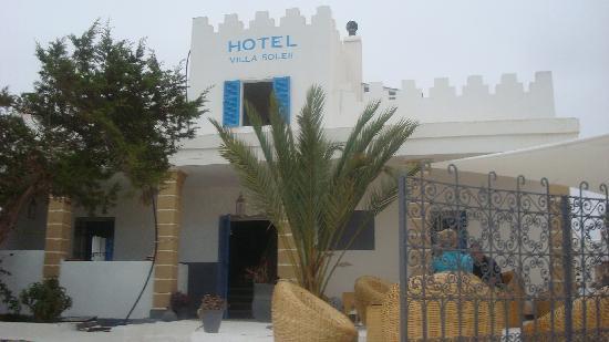 Hotel Villa Soleil : l'accueil