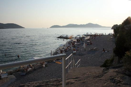 Sun Gardens Dubrovnik: The Beach