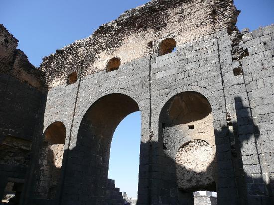 Shahba City: The Roman baths