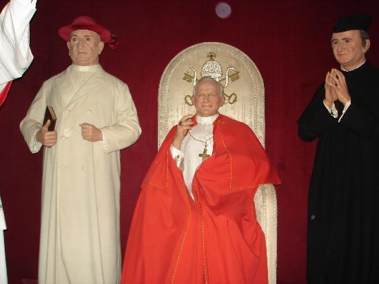 Museo de Cera de Madrid: papas
