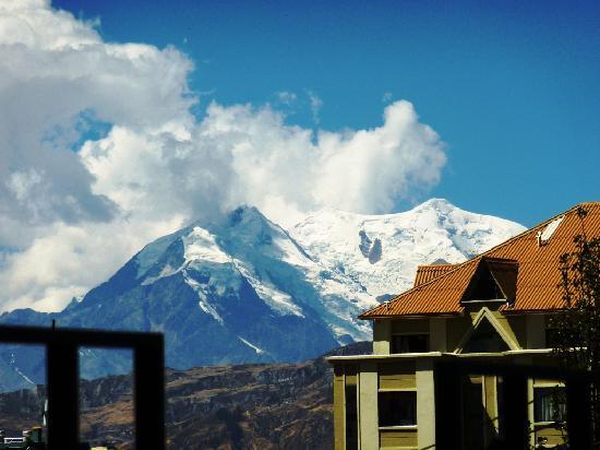 Vue depuis notre Chambre Hôtel A la Maison La Paz