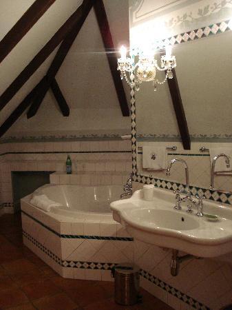 Alchymist Nosticova Palace : the lovely bathroom