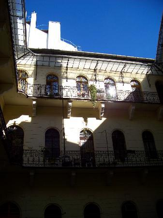 Centrooms House : the internal courtyard