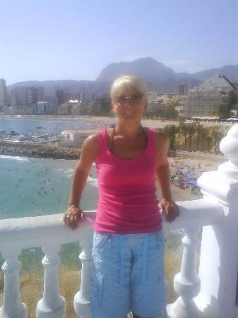 Benidorm Palace: lovely views