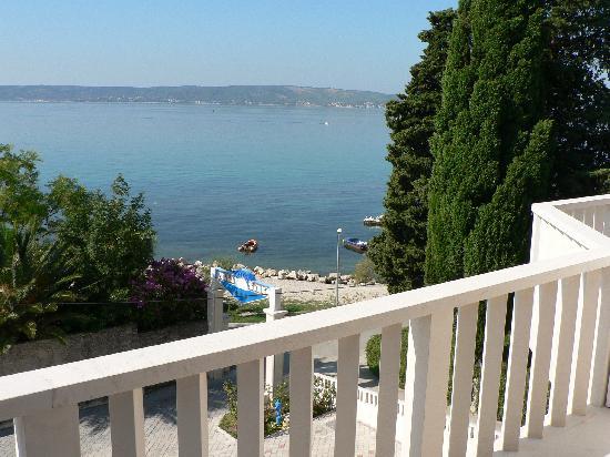 Hotel Villa Zarko : La vue du balcon de notre chambre