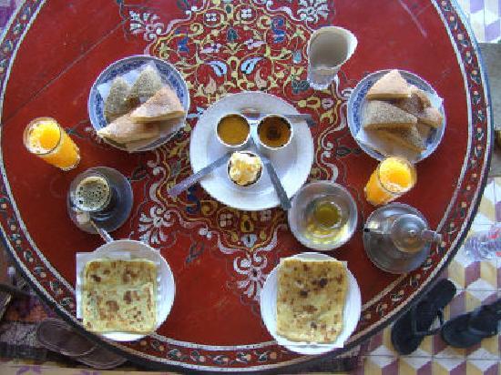 Hotel Imouzzer: breakfast