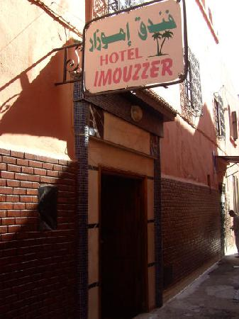 Hotel Imouzzer: entry to the hotel
