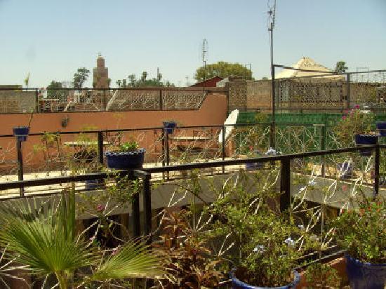 Hotel Imouzzer: terrace II