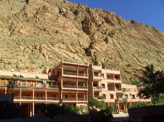 Hotel La Gazelle du Dades: the outside