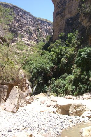 Torotoro National Park: in the canyon
