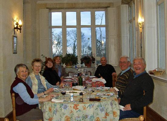 Chateau de Grand Branet: Dinner at Grand Branet