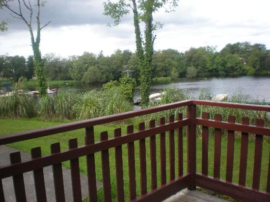 Lusty Beg Island : View from our lodge